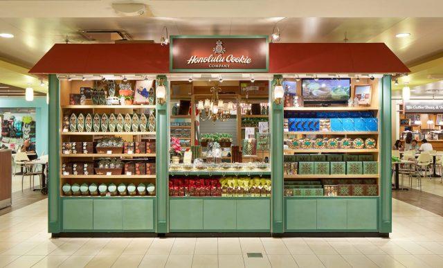 ハワイの有名なホノルルクッキーカンパニーのお店