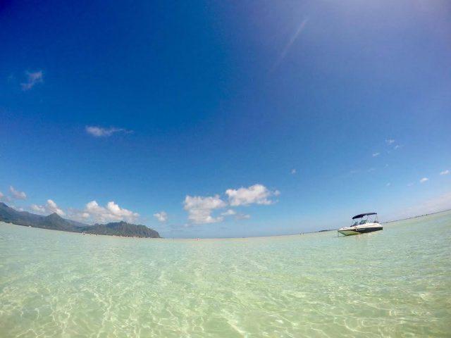 ハワイの有名な天国の海