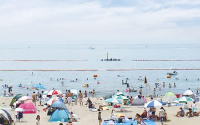 大阪の二色の浜海水浴場