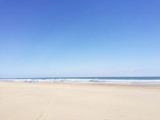 九十九里浜の真亀海水浴場