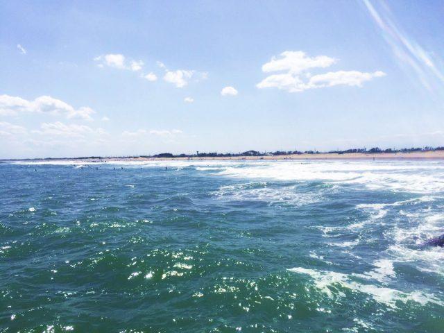九十九里浜の海水浴場