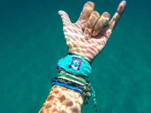 サーフィン用の時計