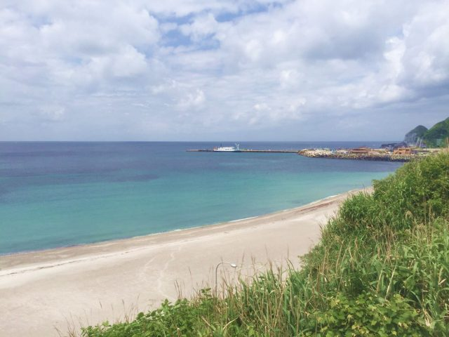 神津島の前浜海岸