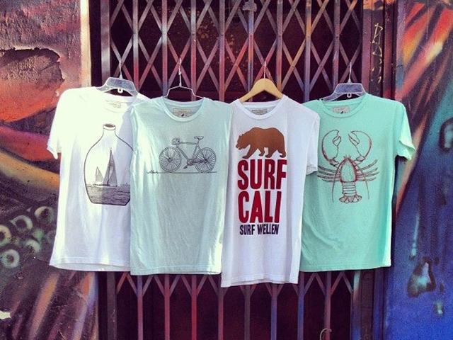 かわいいサーフTシャツ4枚