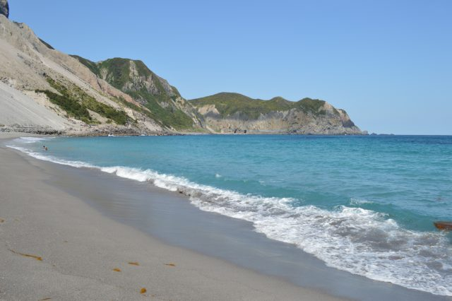 神津島の多幸浜
