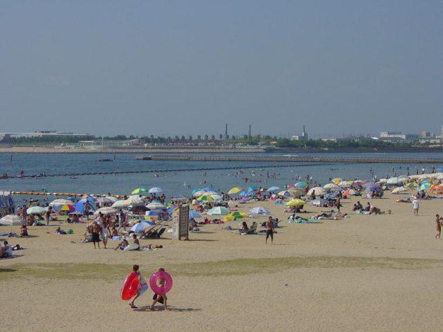 関西の二色の浜海水浴場