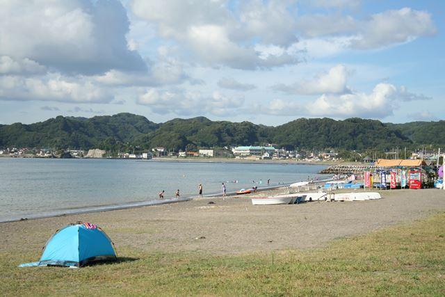 千葉の多田良北浜海水浴場