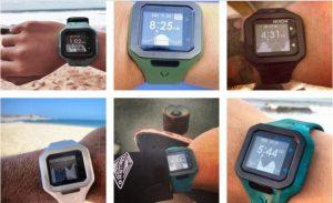 サーフィン用の人気な時計