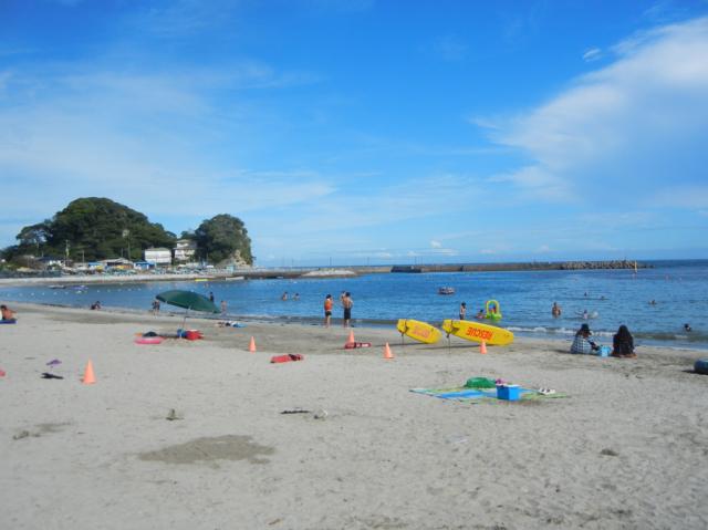 千葉の興津海水浴場