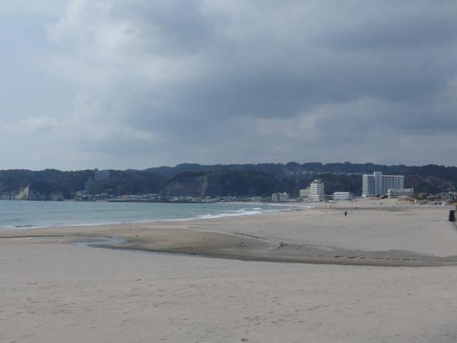 千葉の岩和田海水浴場