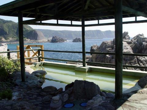 神津島の露天風呂