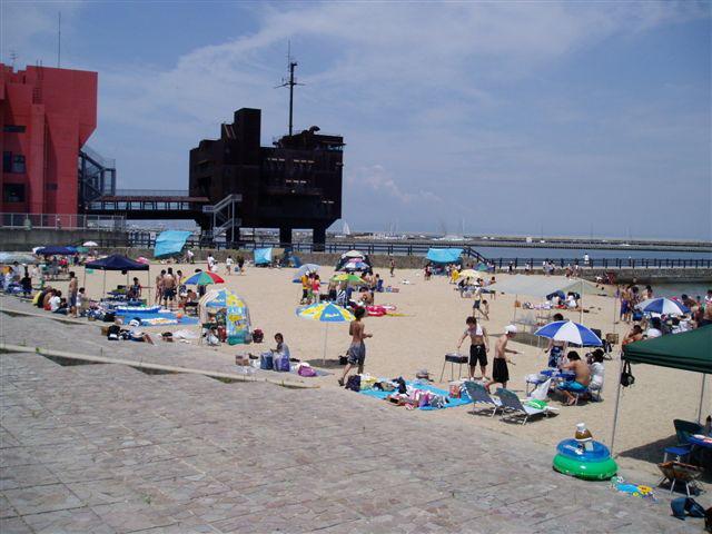 関西のときめきビーチという海水浴場
