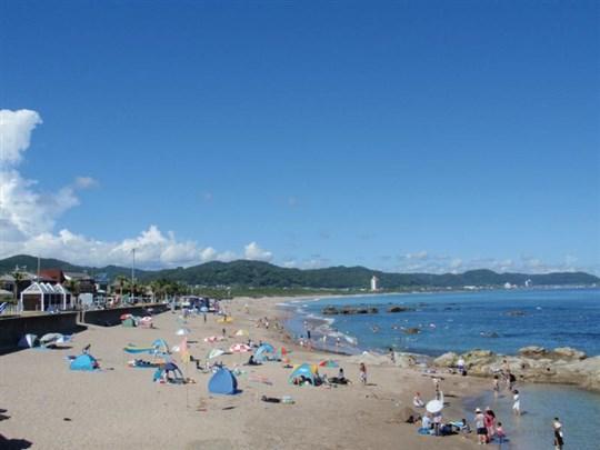 関東の和田浦海水浴場