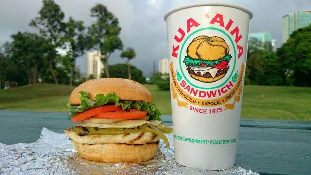 有名なハワイのハンバーガー