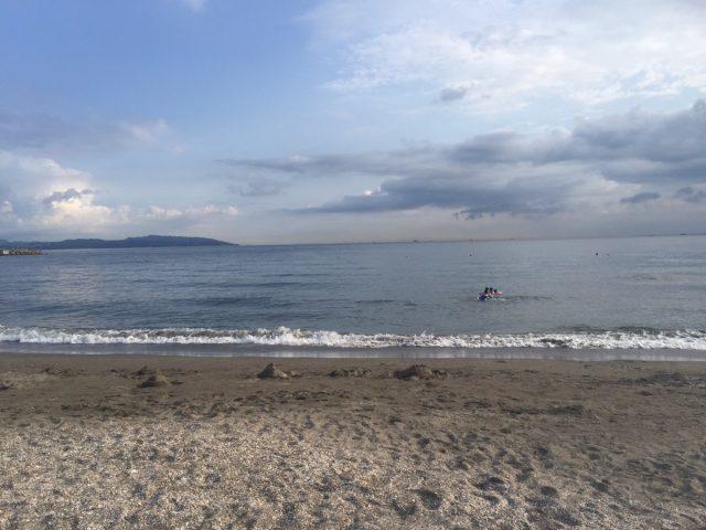 富津海水浴場の風景