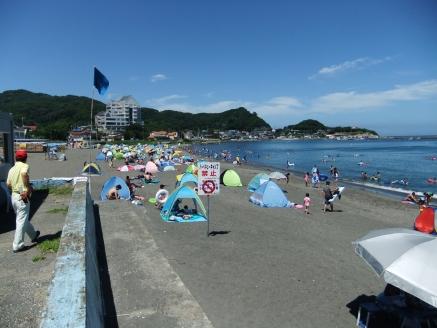 関東の館山にある海水浴場