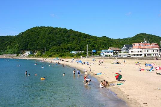 関西の磯の浦海水浴場