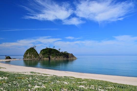 関西の平海水浴場