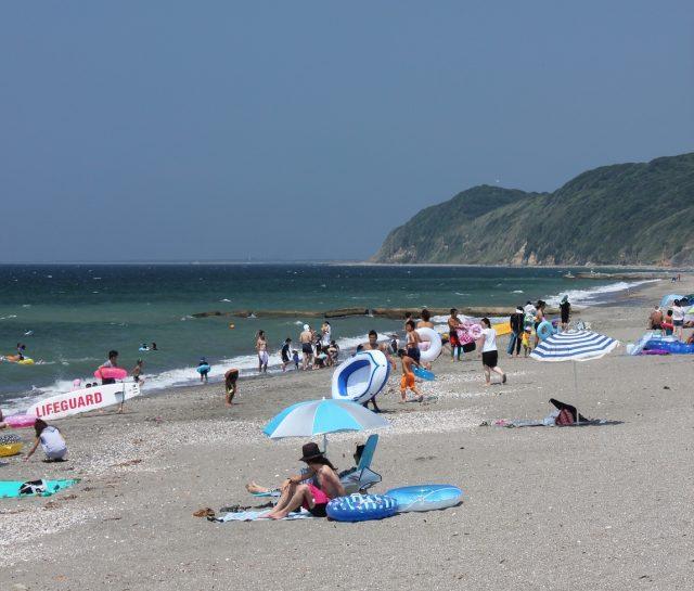 関西にある新舞子海水浴場