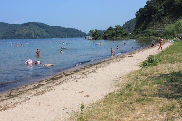 関西の宮ヶ浜水泳場