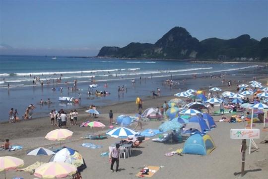 関東の岩井海水浴場