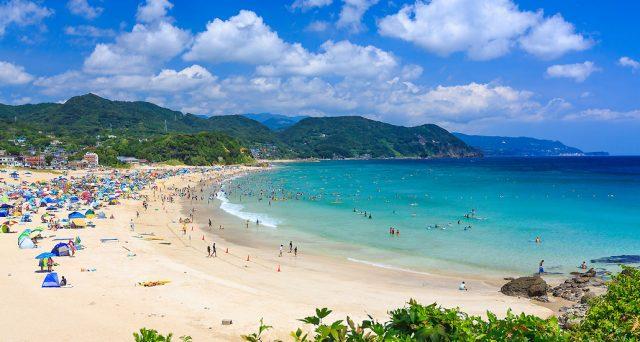 関東から行ける白浜海水浴場