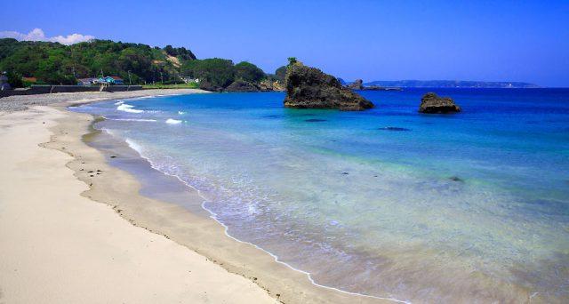 関東から行ける田牛海水浴場