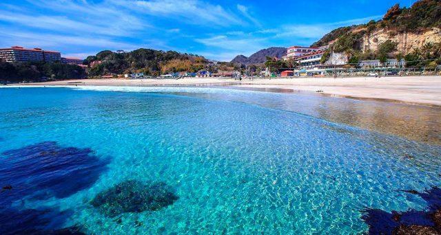 関東から行ける多々戸浜海水浴場