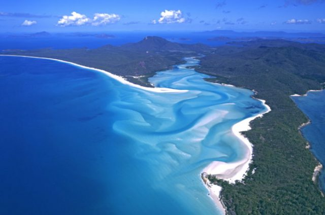 オーストラリアのハミルトン島