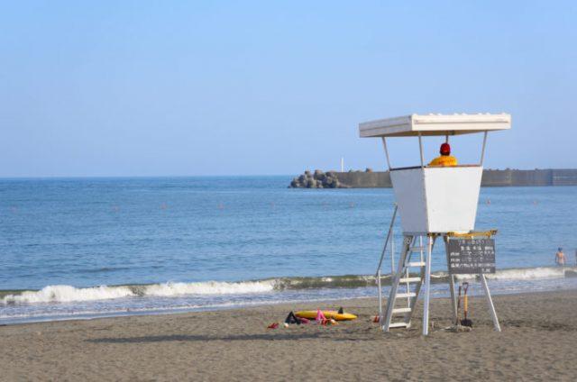 関東のサザンビーチ茅ヶ崎海水浴場