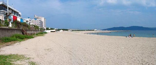 関西の林崎・松江海水浴場