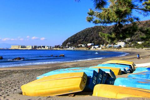 関東の一色海水浴場