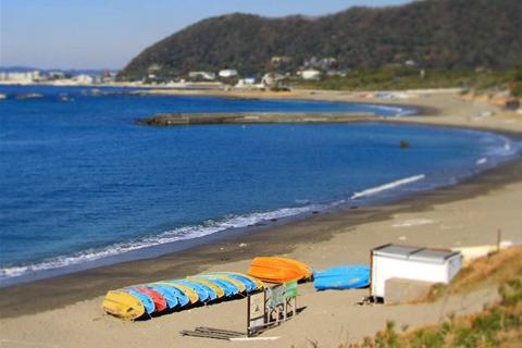 関東の長者ケ崎・大浜海水浴場