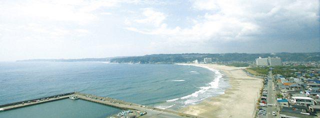 関東の御宿海水浴場