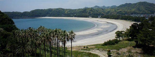 関東から行ける弓ヶ浜海水浴場