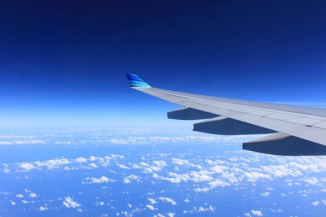 ハミルトン島に行く飛行機