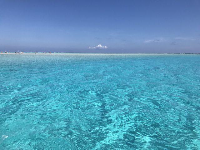 百合が浜の周りの海