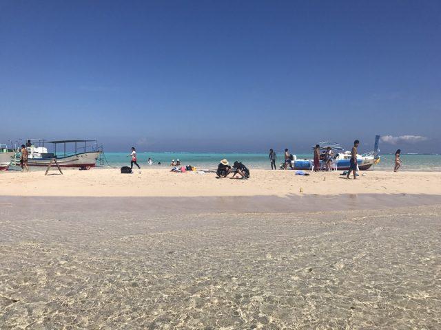 与論島にある百合ヶ浜