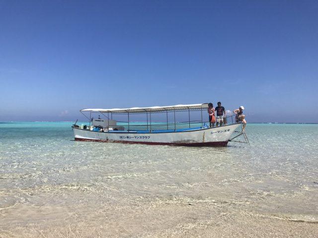 与論島旅行の名物である百合ヶ浜