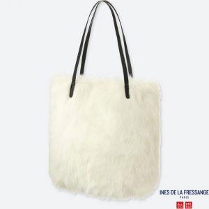 ユニクロのファートートバッグ