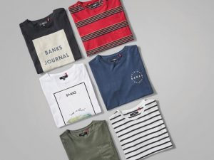 サーフブランドのTシャツたち