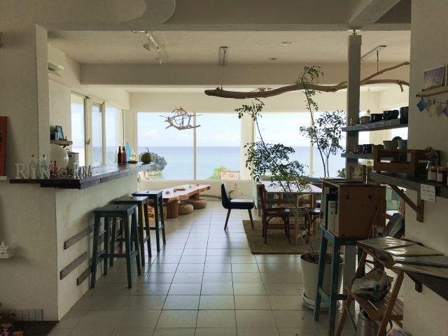 与論島旅行で行った可愛いカフェ