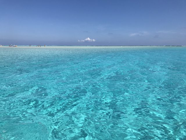 与論島旅行で見られる海