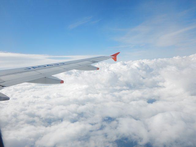 与論島の行き方の1つである飛行機
