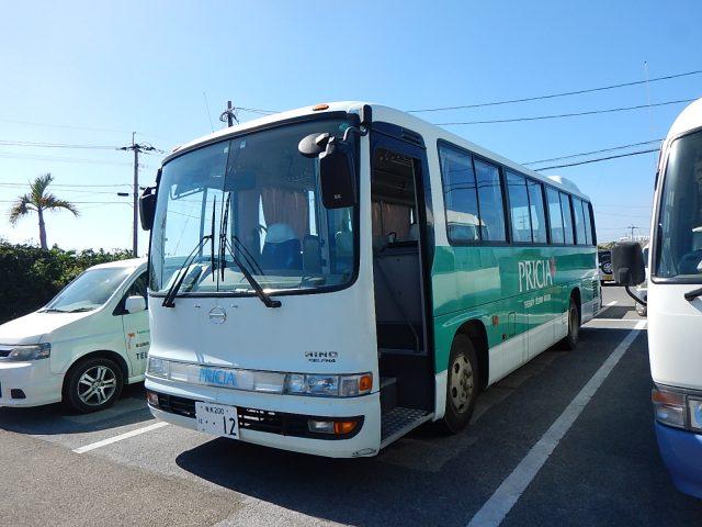 与論島旅行で乗ったバス