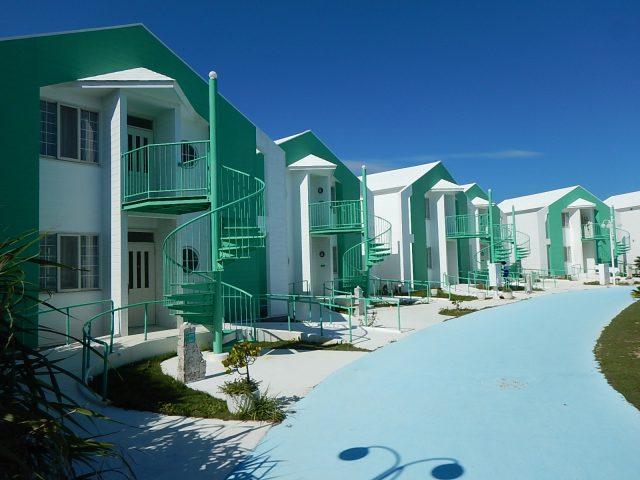 与論島のホテルであるプリシアリゾートヨロン