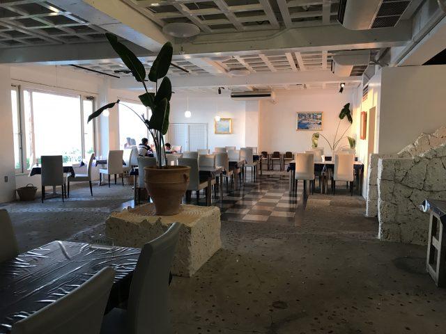 与論島旅行で行ったレストラン