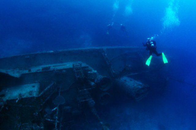 沈潜あまみは与論島の観光スポット