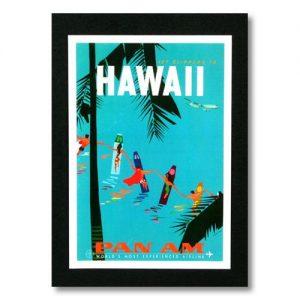 ハワイアンインテリアに合うポスター