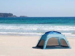 おしゃれで海に映えるサンシェードテント